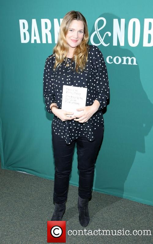 Drew Barrymore prior to receiving Are You My Boyfriend